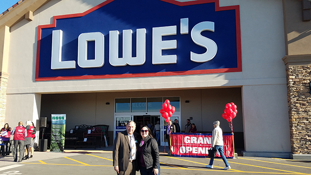 Kimbley Craig and Lowe's Salinas
